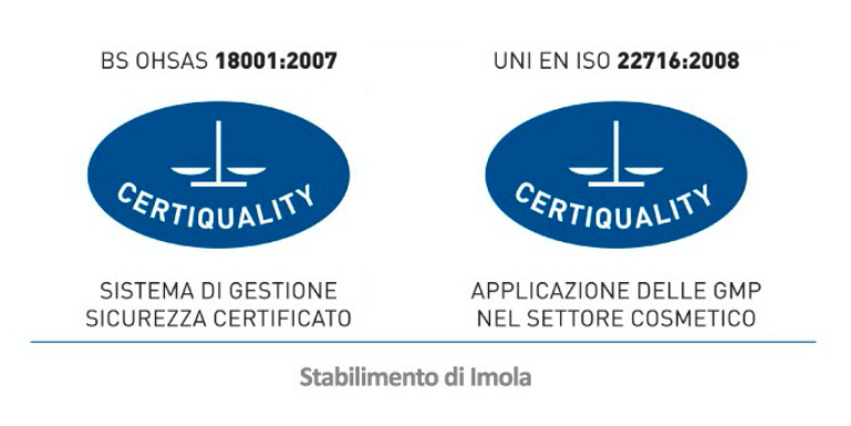 Packaging Imolese certificazioni
